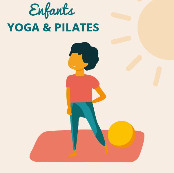 Yoga & Pilates<br/>pour les enfants